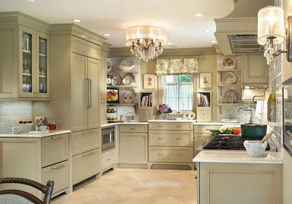 Кухня шебби