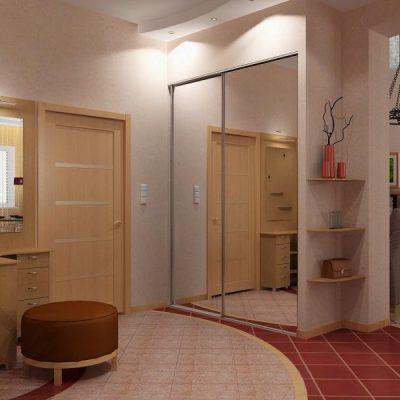 Пример прихожей комнаты по фен шуй