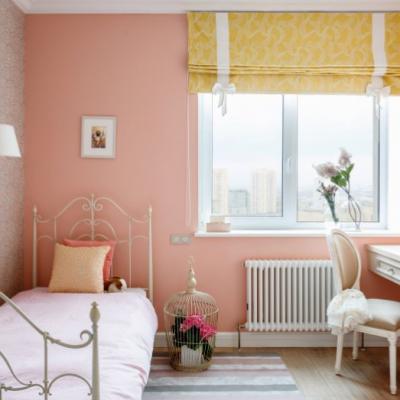 Интересное оформление детской комнаты в классическом стиле