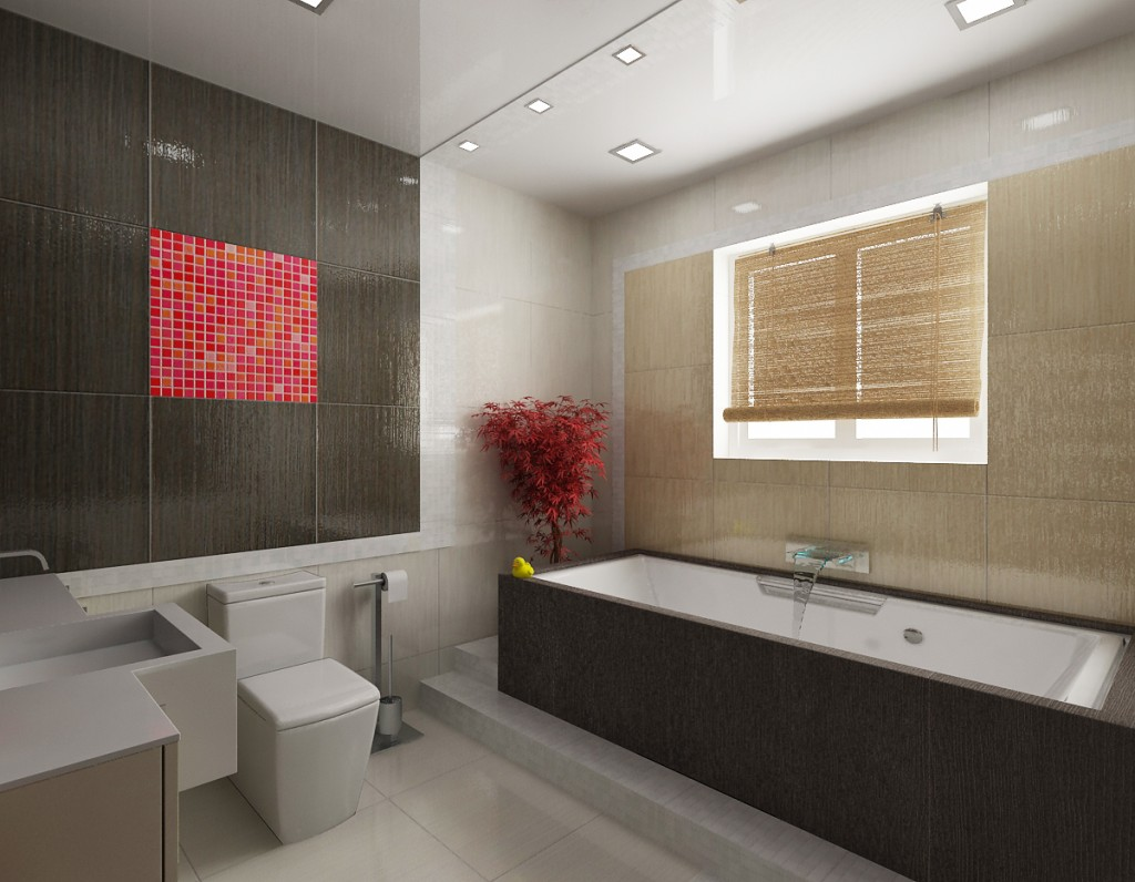Образец ванной комнаты