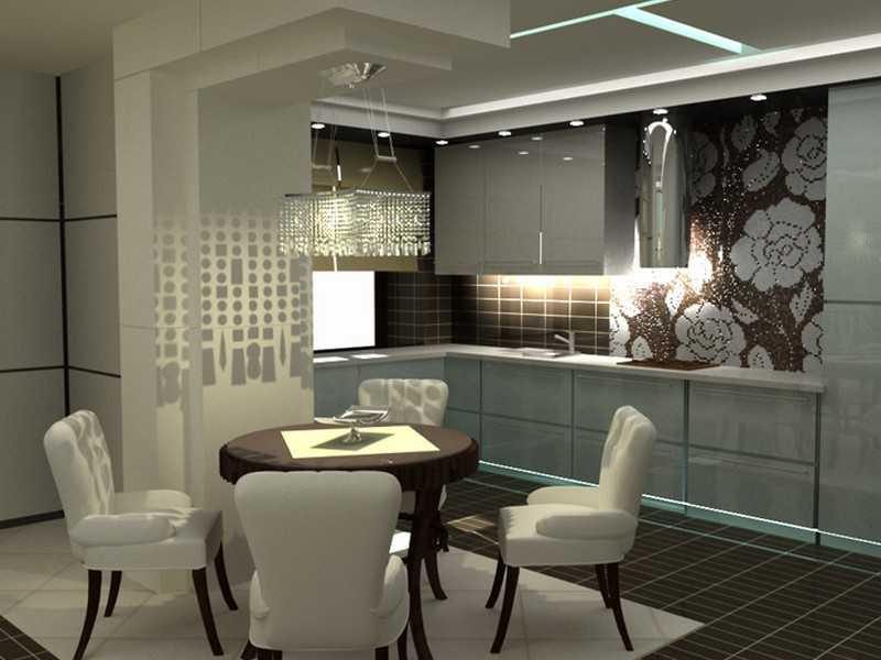 Кафель на стенах