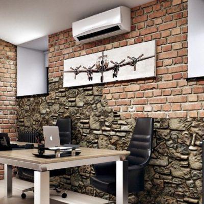 Декор помещения стиля лофт