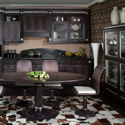 Темный шоколад кухни