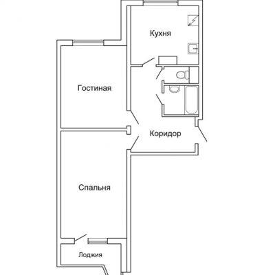 Подробное описание плана для маленькой квартиры