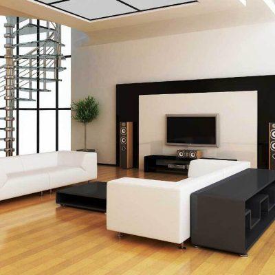Расположение побразной мебели формы