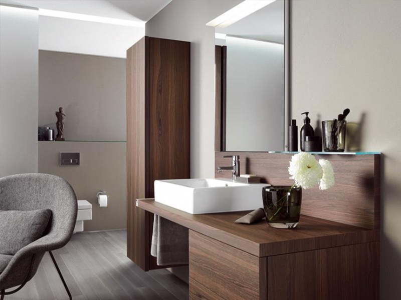 Коричневая мебель в стиле модерн