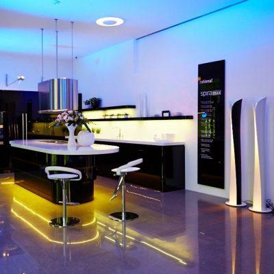 Освещение мебели
