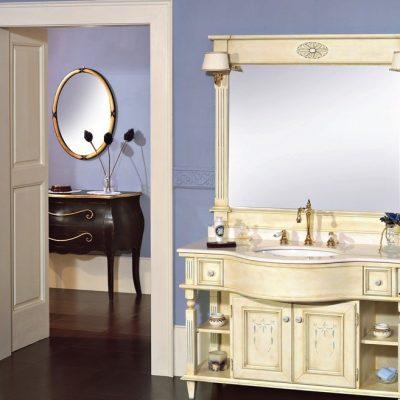 Мебель для ванной белая
