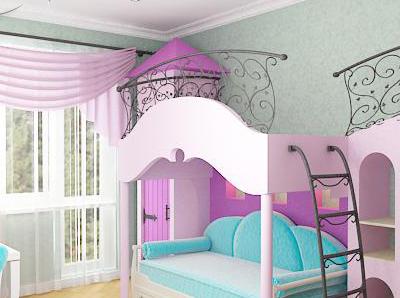 Детская комната девочки