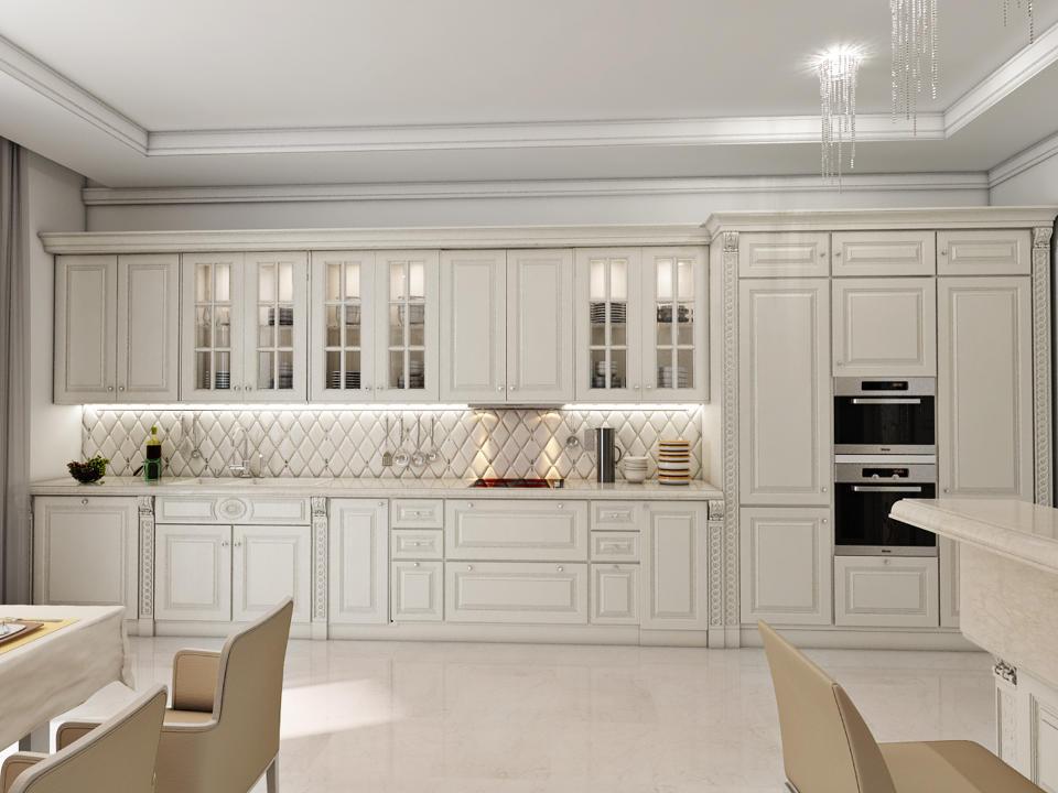 Дизайн интерьера кухни в москве. 100+ фото. Современные.