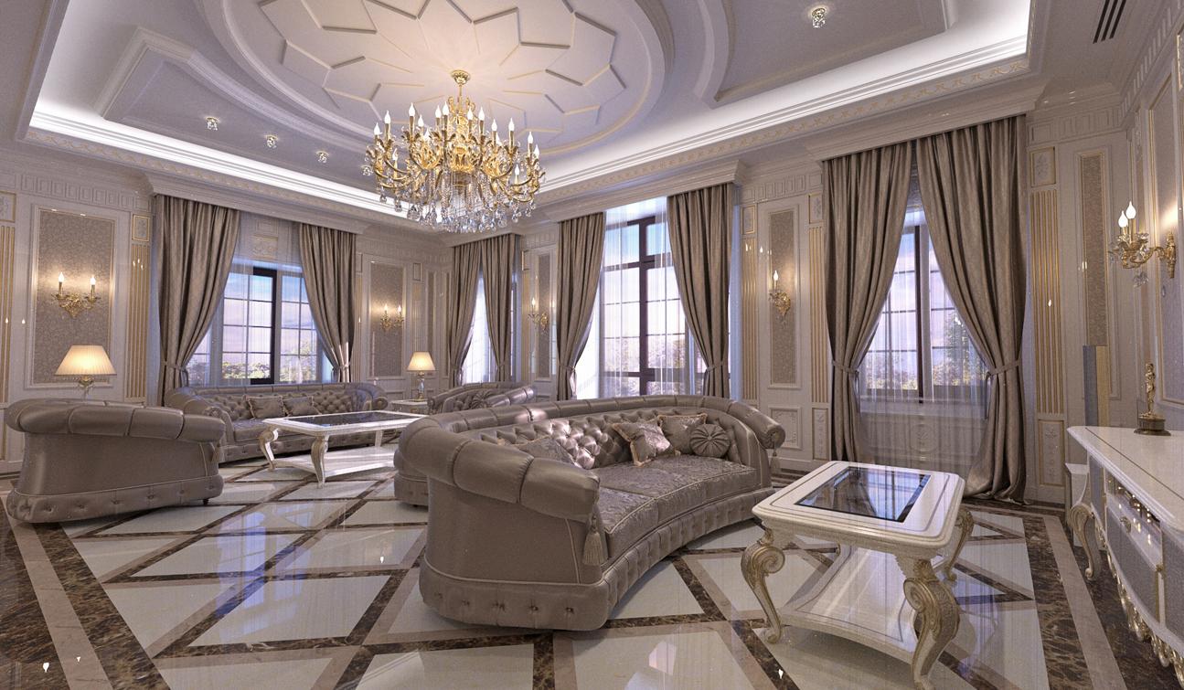 Комната оформленная дизайнером