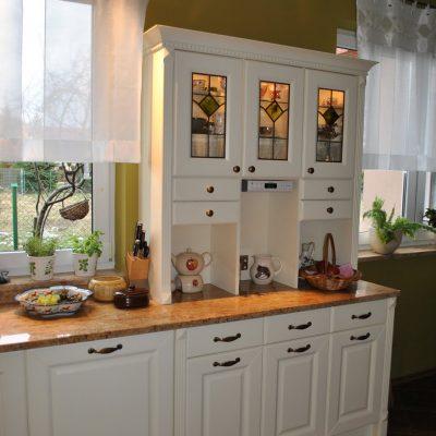 Полочки мебели кухни