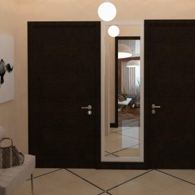 Две двери в гостиной