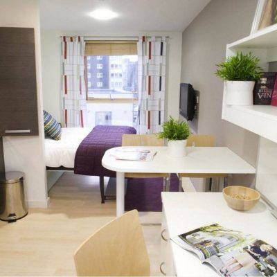 Небольшая, но очень уютная планировка комнаты