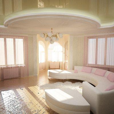 Пример комнаты по фен шую на фото