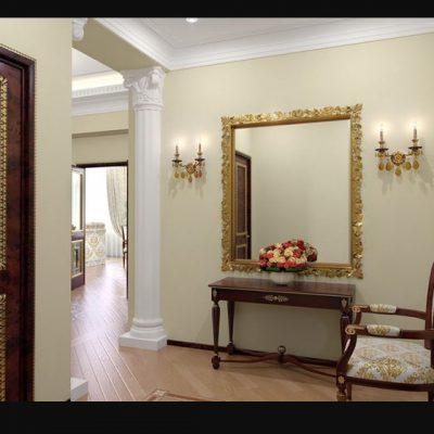 Прихожая стиля барокко в интерьере