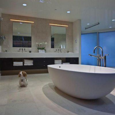 Плитка в интеьрере ванной