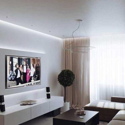 Изящный интерьер гостиной