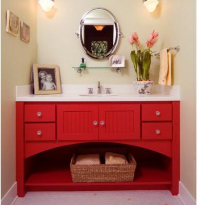 Красный шкаф фьюжн