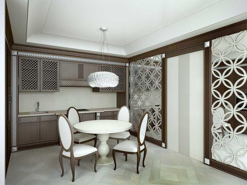 отделка помещения цветами и мебелью