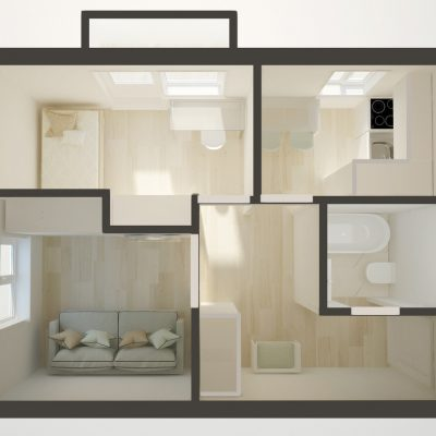 Перепланировка план на фото 2 квартир