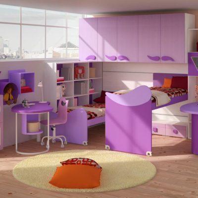 Детская комната хай тек стиля