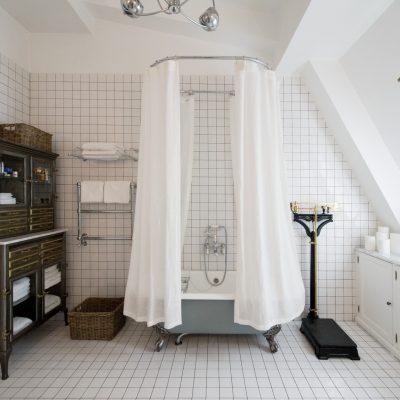 Ванная комната просторная фьюжн