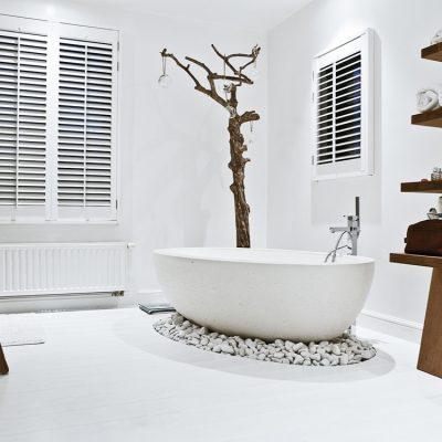 Ванная в скандинавском стиле на фото