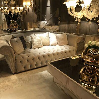 освещение дивана