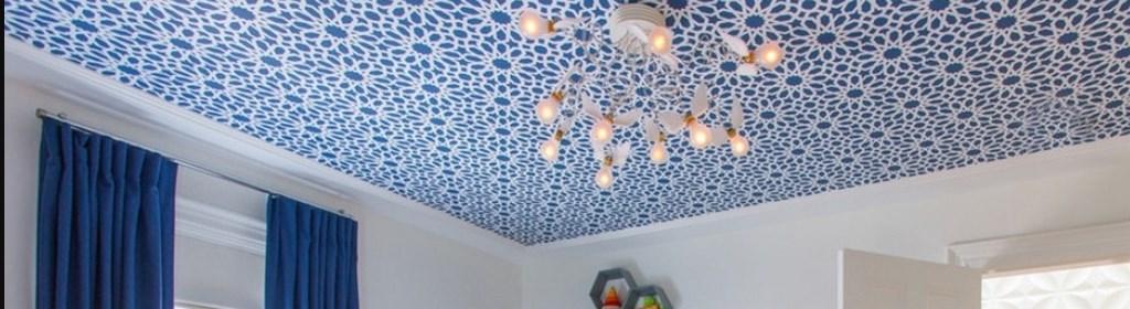 Оформление потолка
