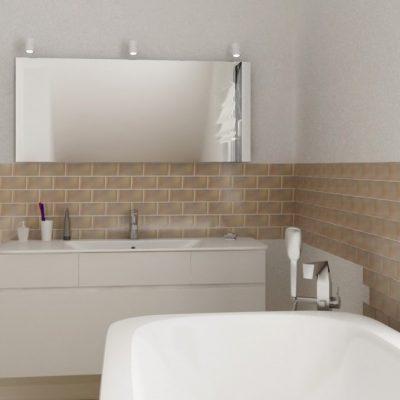 Плитка в ванной комнате на фото