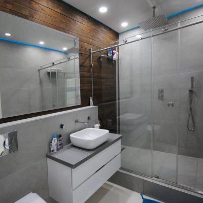 Расположение ванны