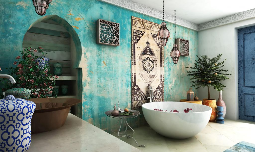 Inspirational Moroccan Bathrooms Ideas That Will Provide