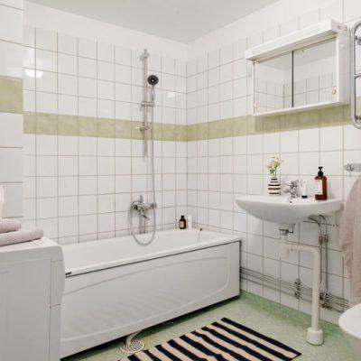 Палас в ванной
