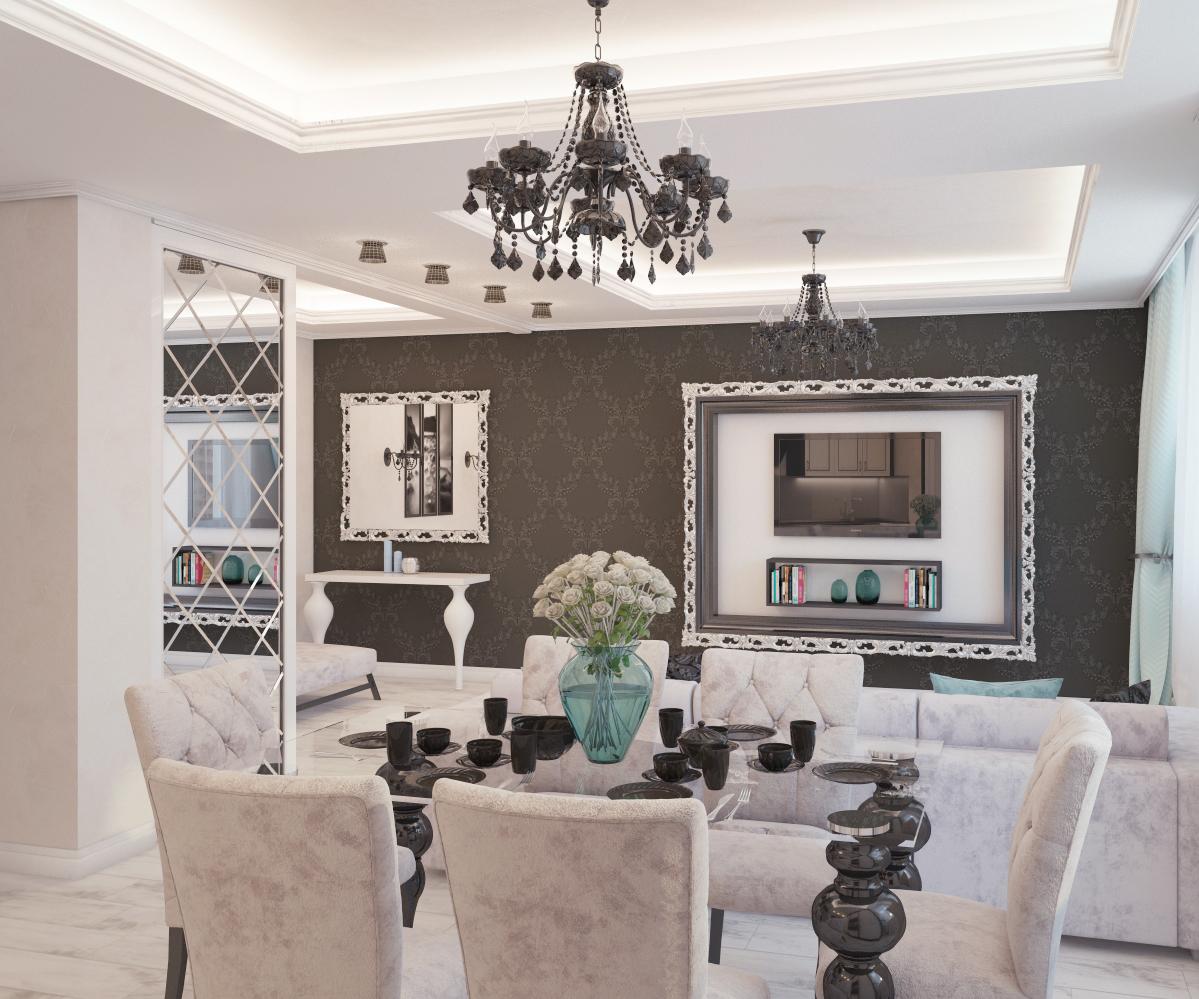 Оформление кухонного пространства