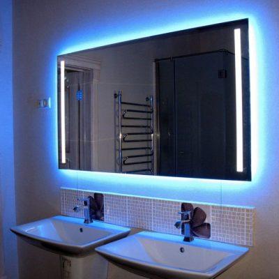 Светодиоидное зеркало