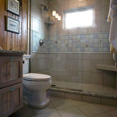 Туалет совмещенный с ванной