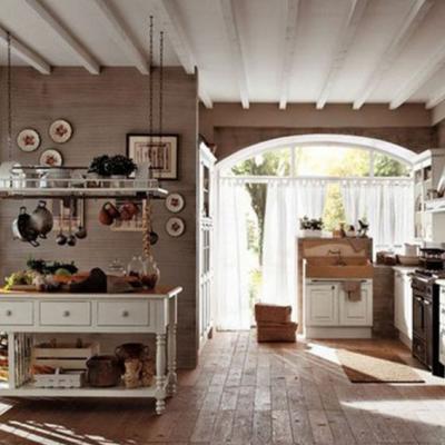 Арочный проем на кухне
