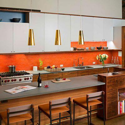 Лофт стиль кухни