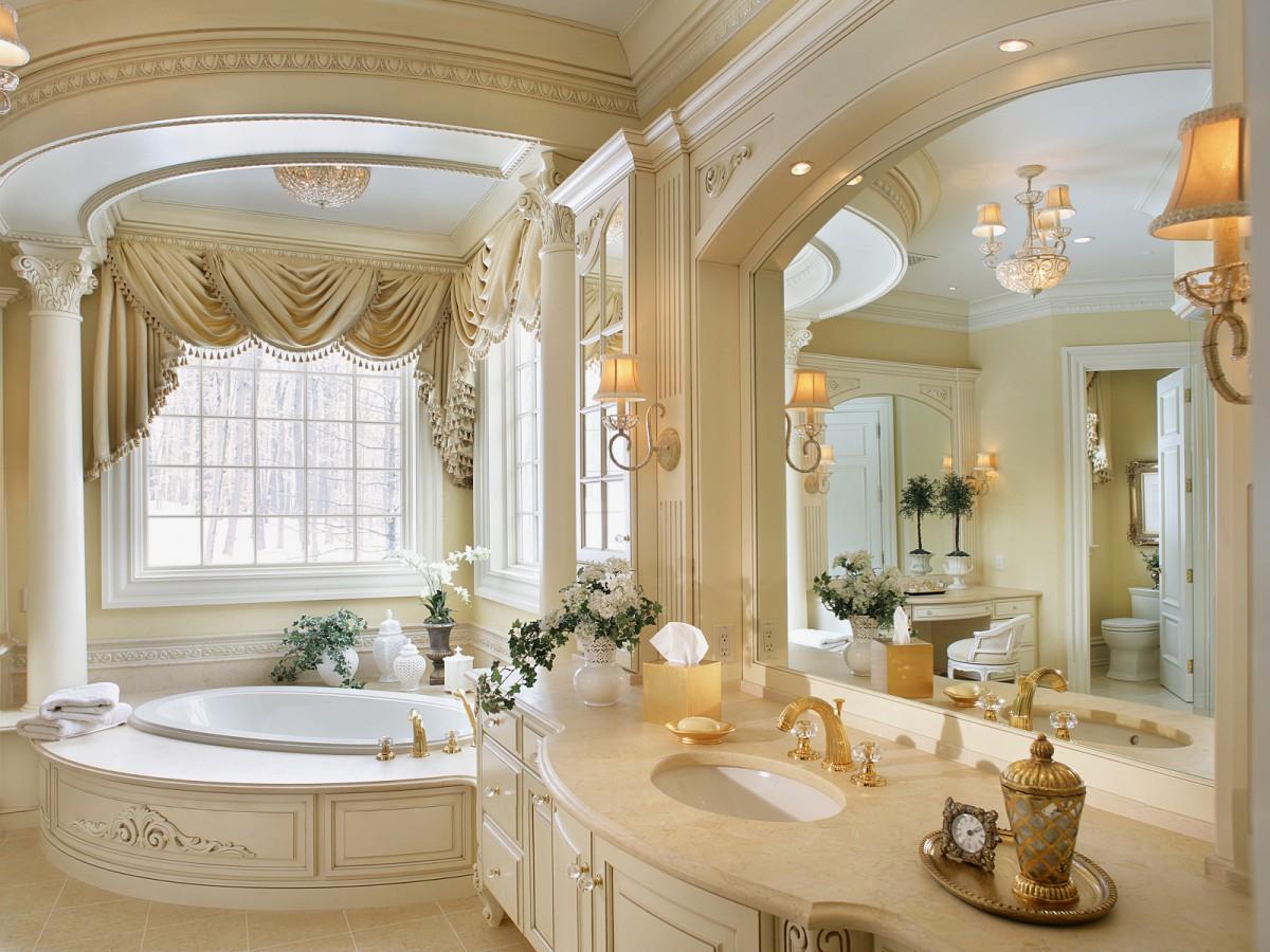 Дизайн роскошной ванной комнаты