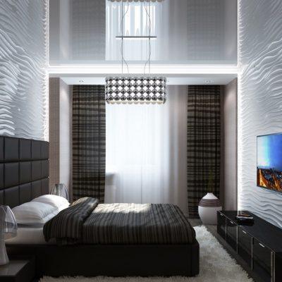 Спальня и шторы