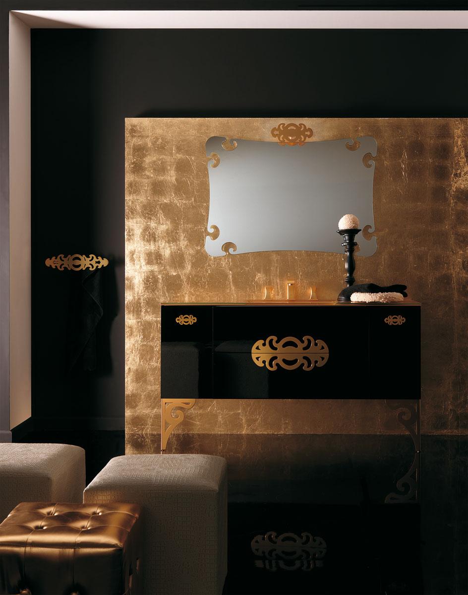 Богатое оформление ванной