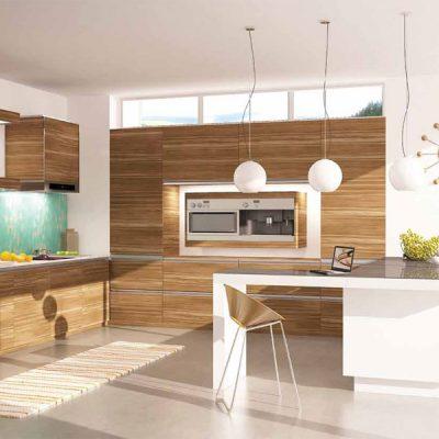 Хайтек и модерн на кухне