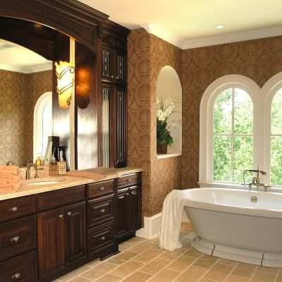 фото ванной борокко