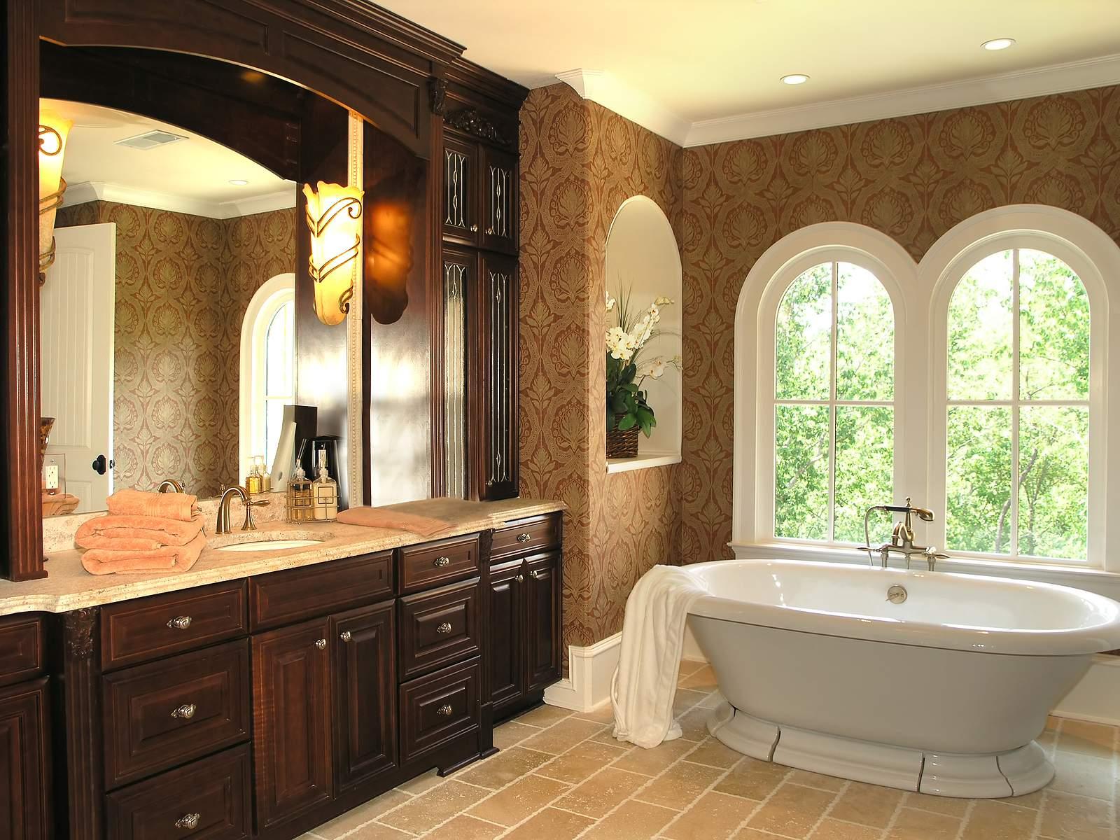 Elegant bathroom vanities