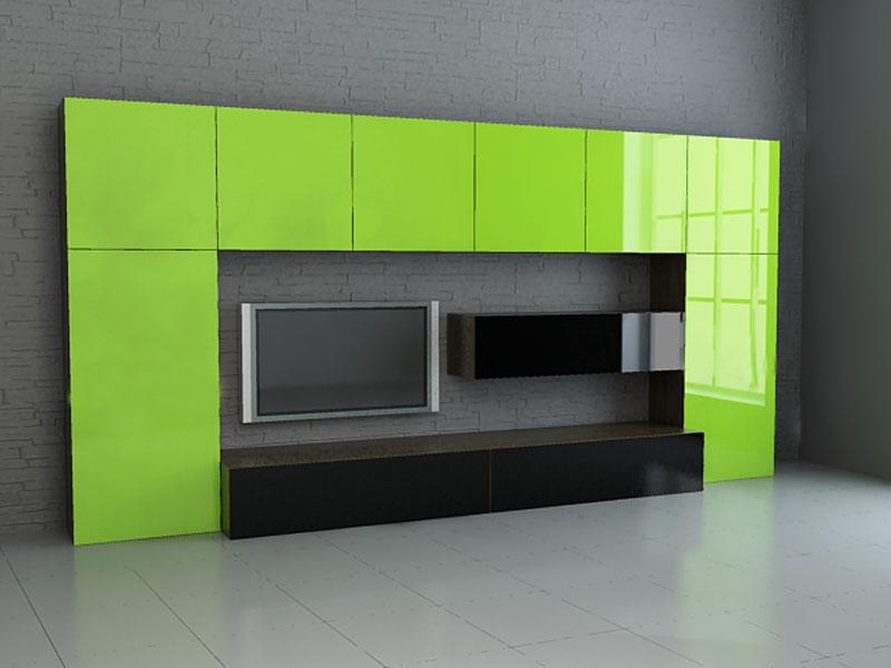Мебель для гостиной в стиле хай-тек: характерные черты и осо.