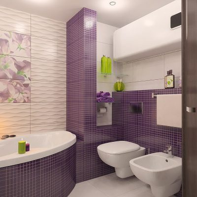 Ванна в женском стиле