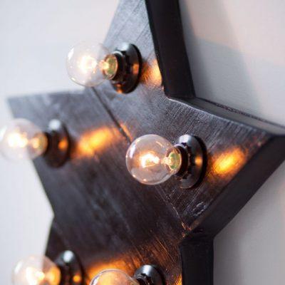 светильник звезда в морском стиле