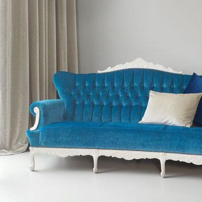Синяя софа