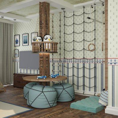 Морская детская комната